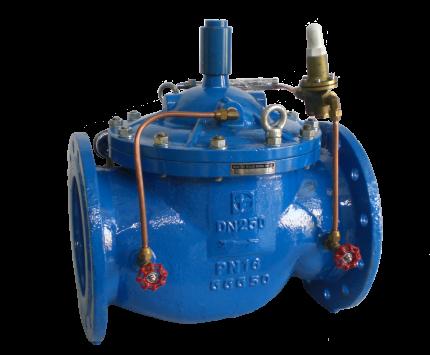 Valvotubi flow control valve art.CV400X