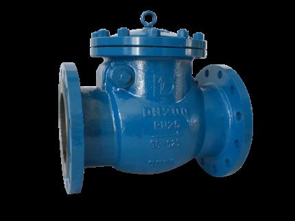 Valvotubi cast steel swing check valve PN 16-25 art.192-193