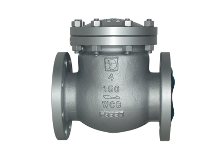 Valvotubi Ind. A216WCB cast steel swing check valve ansi #600 art.1703