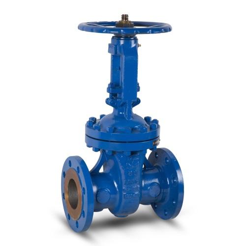 Valvotubi Ind. gate valve cast steel OS&Y oval body art. 62