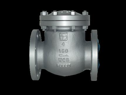 Valvotubi Ind. A216WCB cast steel swing check valve ansi #150 art.1701