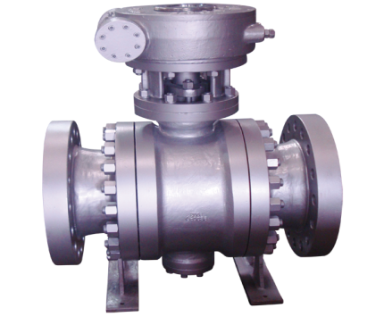 Valvotubi Ind. trunnion mounted ball valve A216WCB ANSI #300 art.30009