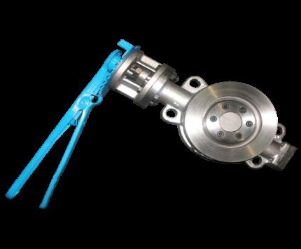 Valvotubi Ind. carbon steel A216WCB wafer butterfly valve ANSI#150 art.40008